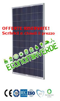 Pannelli fotovoltaici in offerta